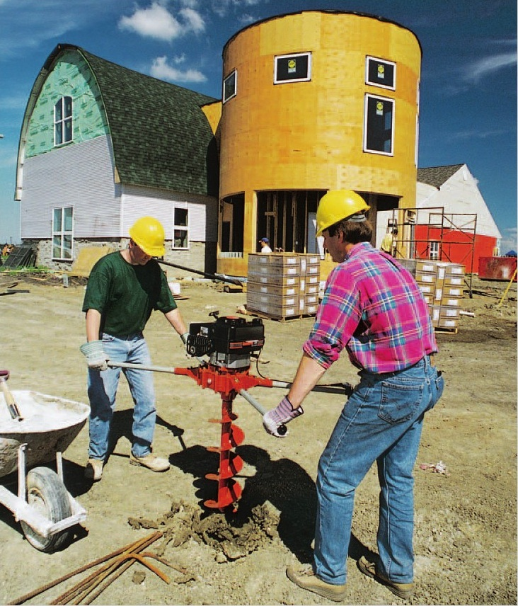 Two Person Hole Digger Deltaquip Supplies Ltd